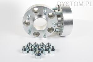 DYSTANSE  PRZYKRĘCANE 22mm 54,1mm 4x100 Toyota Carina, Celica, Corolla, IQ, MR 2, Paseo, Starlet, Yaris,