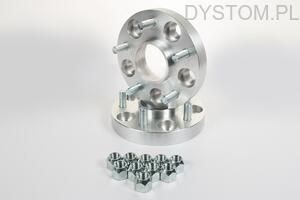 DYSTANSE  PRZYKRĘCANE 25mm 54,1mm 4x100 Toyota Carina, Celica, Corolla, IQ, MR 2, Paseo, Starlet, Yaris,